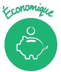 Icône Économique